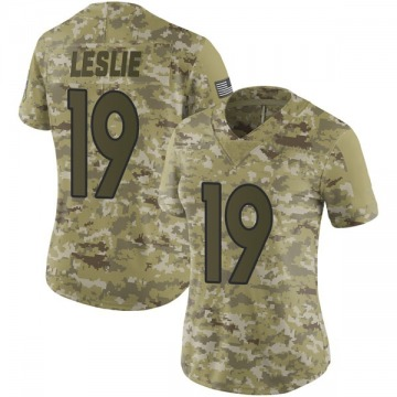 Women's Denver Broncos Jordan Leslie Camo Limited 2018 Salute to Service Jersey By Nike