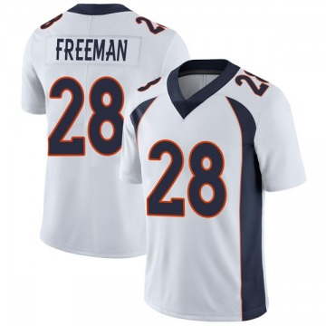 Youth Denver Broncos Royce Freeman White Limited Vapor Untouchable Jersey By Nike